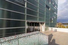 Κέντρο ARS Electronica στο Λιντς, Αυστρία Στοκ εικόνα με δικαίωμα ελεύθερης χρήσης
