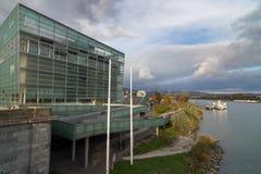 Κέντρο ARS Electronica στο Λιντς, Αυστρία Στοκ Φωτογραφία