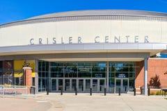 Κέντρο Crisler στο Πανεπιστήμιο του Michigan στοκ φωτογραφία με δικαίωμα ελεύθερης χρήσης