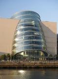Κέντρο Docklands Δουβλίνο Ιρλανδία Συνθηκών στοκ εικόνες