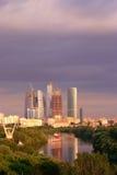 κέντρο finansial Μόσχα Στοκ φωτογραφία με δικαίωμα ελεύθερης χρήσης