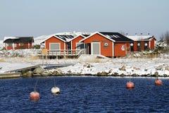 Κέντρο Iurima φύσης στο νησί Jurmo στο πάρκο Seanational αρχιπελαγών, Φινλανδία Στοκ Εικόνες