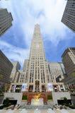 Κέντρο Rockefeller, Μανχάταν, πόλη της Νέας Υόρκης Στοκ Φωτογραφία