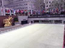 Κέντρο Rockefeller, πόλη της Νέας Υόρκης, ΗΠΑ στοκ φωτογραφία με δικαίωμα ελεύθερης χρήσης
