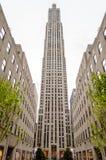 Κέντρο Rockefeller, πόλη της Νέας Υόρκης Στοκ εικόνα με δικαίωμα ελεύθερης χρήσης