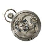 Κέντρο Steampunk που απομονώνεται Στοκ Φωτογραφίες