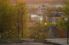 Κέντρο Vilnius, Λιθουανία Στοκ Φωτογραφίες