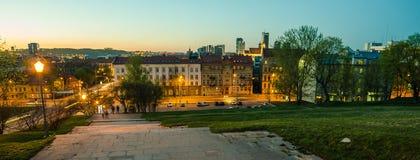 Κέντρο Vilnius, Λιθουανία Στοκ φωτογραφία με δικαίωμα ελεύθερης χρήσης