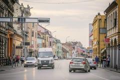 Κέντρο Vinkovci Στοκ εικόνες με δικαίωμα ελεύθερης χρήσης