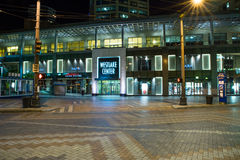 Κέντρο Westlake τη νύχτα, Σιάτλ Ουάσιγκτον Στοκ Εικόνες