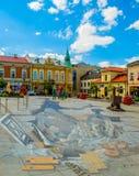 Κέντρο Wieliczka Στοκ Φωτογραφίες
