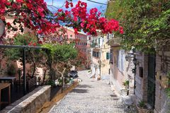Κέρκυρα Ελλάδα Στοκ φωτογραφίες με δικαίωμα ελεύθερης χρήσης