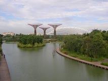 Κήποι από τον κόλπο Σιγκαπούρη Amazying Archtecture στοκ εικόνα με δικαίωμα ελεύθερης χρήσης