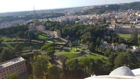 Κήποι Βατικάνου στοκ φωτογραφία με δικαίωμα ελεύθερης χρήσης