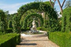 Κήποι Βατικάνου στοκ φωτογραφίες με δικαίωμα ελεύθερης χρήσης