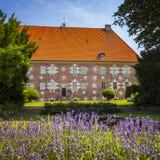 Κήποι κάστρων Krapperup Στοκ φωτογραφία με δικαίωμα ελεύθερης χρήσης