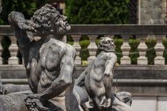 Κήποι κάστρων Peles Στοκ Φωτογραφίες