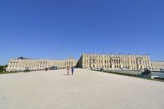 Κήποι και παλάτι Βερσαλλίες στη Γαλλία Στοκ Φωτογραφίες