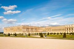 Κήποι και παλάτι Βερσαλλίες Στοκ Εικόνες