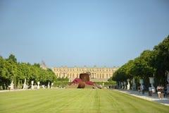 Κήποι και παλάτι Βερσαλλίες Στοκ εικόνες με δικαίωμα ελεύθερης χρήσης