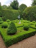 Κήποι κιβωτίων parterre στοκ φωτογραφία με δικαίωμα ελεύθερης χρήσης