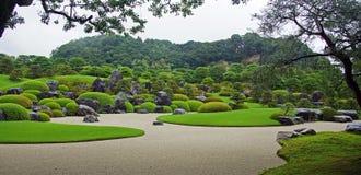 Κήποι Μουσείων Τέχνης Adachi στο Ματσούε, Ιαπωνία Στοκ Φωτογραφίες