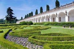 Κήποι λουλουδιών (ΟΥΝΕΣΚΟ), Kromeriz, Τσεχία στοκ εικόνες