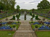 Κήποι παλατιών Kensington, Αγγλία Στοκ Εικόνες