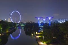 κήποι Σινγκαπούρη κόλπων Στοκ Φωτογραφία