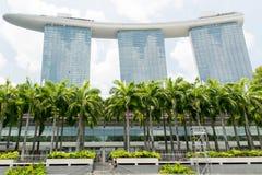 κήποι Σινγκαπούρη κόλπων Στοκ εικόνες με δικαίωμα ελεύθερης χρήσης