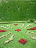 Κήποι στο κάστρο Montjuic στη Βαρκελώνη Στοκ εικόνα με δικαίωμα ελεύθερης χρήσης