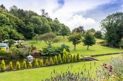 Κήποι στο χωριό Cockington στοκ φωτογραφία με δικαίωμα ελεύθερης χρήσης