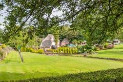 Κήποι στο χωριό Cockington στοκ εικόνα