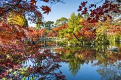 Κήποι του Κιότο Στοκ εικόνα με δικαίωμα ελεύθερης χρήσης