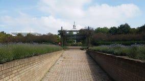 Κήποι του Fred Roche και ακρογωνιαίος λίθος Χριστού Στοκ φωτογραφίες με δικαίωμα ελεύθερης χρήσης