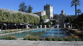 Κήποι Alcazar στην Κόρδοβα, Ισπανία φιλμ μικρού μήκους