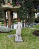 Κήποι Babylon στο πάρκο Jaime Duque στοκ εικόνα