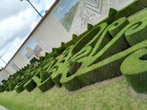 Κήποι Babylon στο πάρκο Jaime Duque στοκ φωτογραφία