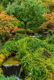Κήποι Butchart στοκ φωτογραφία