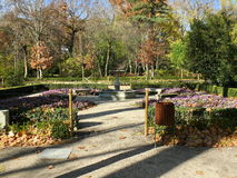 Κήποι EL Capricho στη Μαδρίτη Στοκ εικόνα με δικαίωμα ελεύθερης χρήσης
