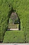 Κήποι Generalife, alhambra, Ισπανία Στοκ φωτογραφία με δικαίωμα ελεύθερης χρήσης