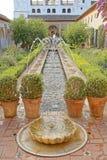 Κήποι Generalife, alhambra, Ισπανία Στοκ Εικόνα