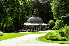 Κήποι Harrogate Αγγλία κοιλάδων μαγνησίας καλά Στοκ Εικόνες