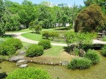 κήποι Himeji κάστρων Στοκ εικόνες με δικαίωμα ελεύθερης χρήσης