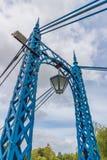 Κήποι Jephson γεφυρών για πεζούς σιδηρουργείων στοκ εικόνα με δικαίωμα ελεύθερης χρήσης