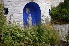Κήποι Portmerion στην Ουαλία στοκ φωτογραφίες