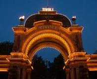 Κήποι Tivoli στην Κοπεγχάγη στοκ εικόνες με δικαίωμα ελεύθερης χρήσης