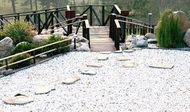 Κήπος βράχου, και μια περισυλλογή Στοκ εικόνες με δικαίωμα ελεύθερης χρήσης