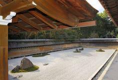 Κήπος βράχου της Zen Στοκ εικόνα με δικαίωμα ελεύθερης χρήσης