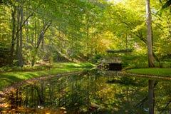 Κήπος Γεωργία Gibbs το φθινόπωρο Στοκ εικόνες με δικαίωμα ελεύθερης χρήσης